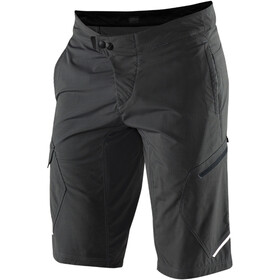 100% Ridecamp Shorts Men charcoal